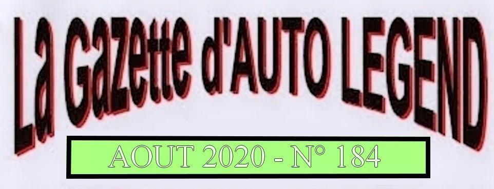 Bandeau gazette aout 2020