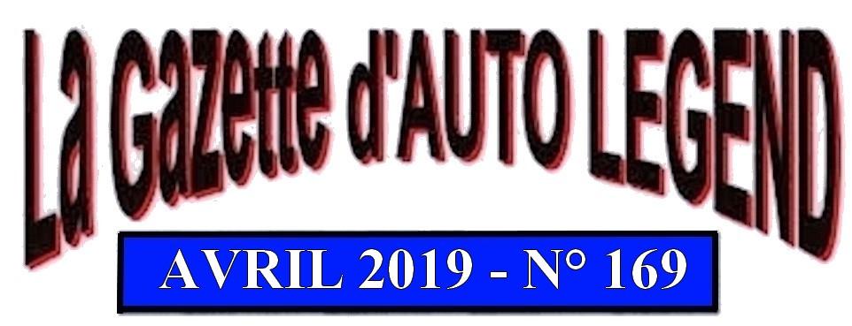 Bandeau gazette avril 2019