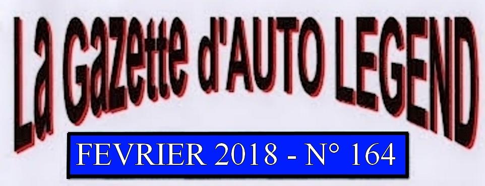 Bandeau gazette fevrier 2018