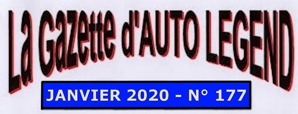 Bandeau gazette janvier 2020