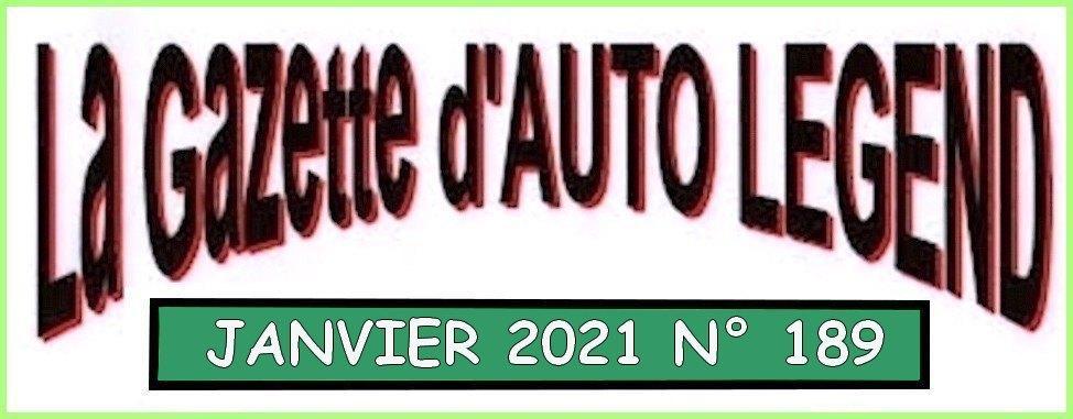 Bandeau gazette janvier 2021