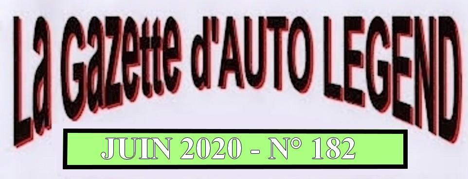 Bandeau gazette juin 2020
