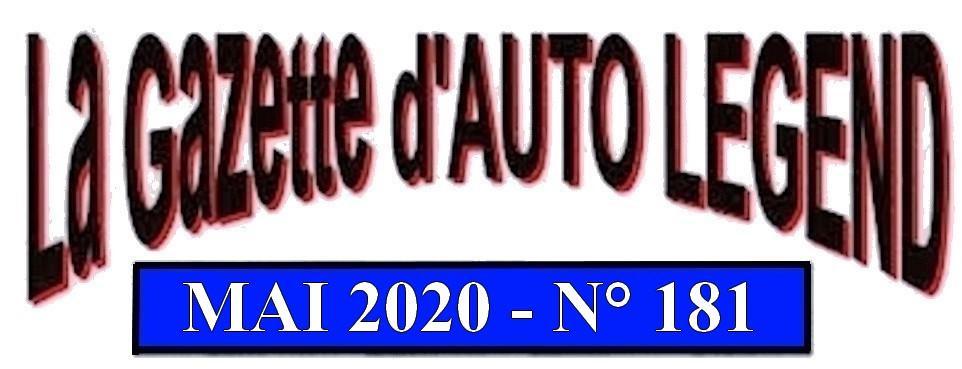 Bandeau gazette mai 2020