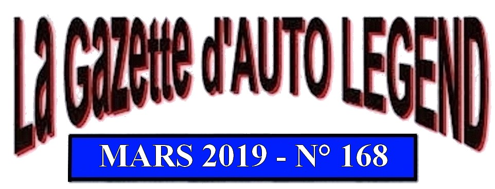 Bandeau gazette mars 2019