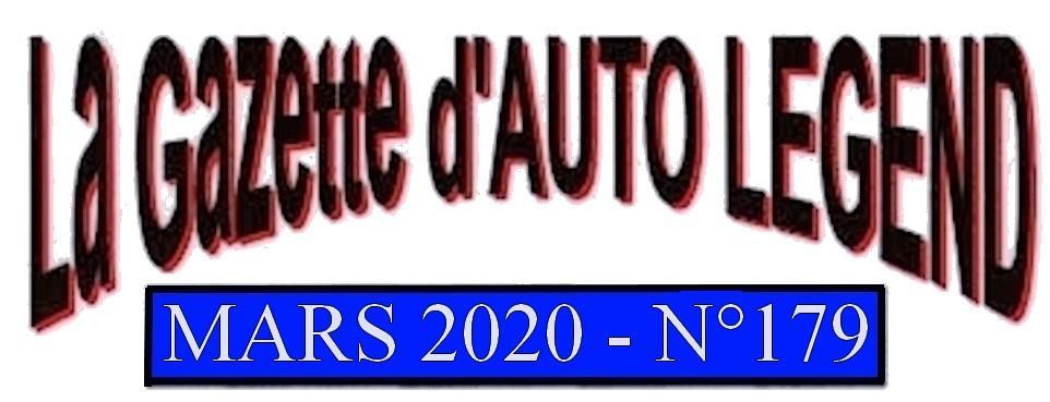 Bandeau gazette mars 2020
