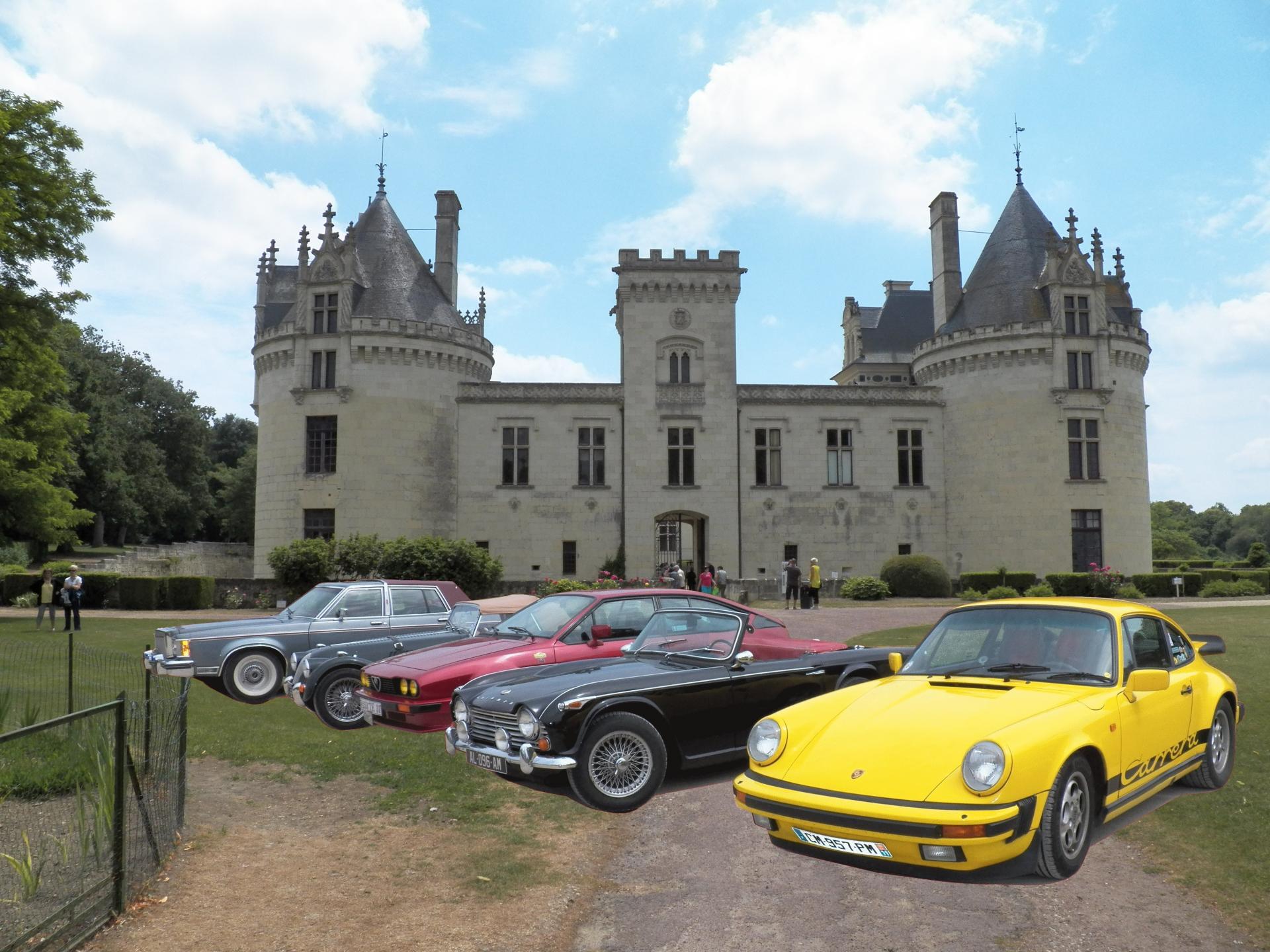 Chateau breze voiture