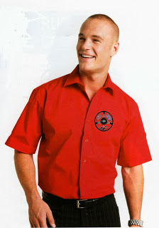 Chemise homme rouge 1