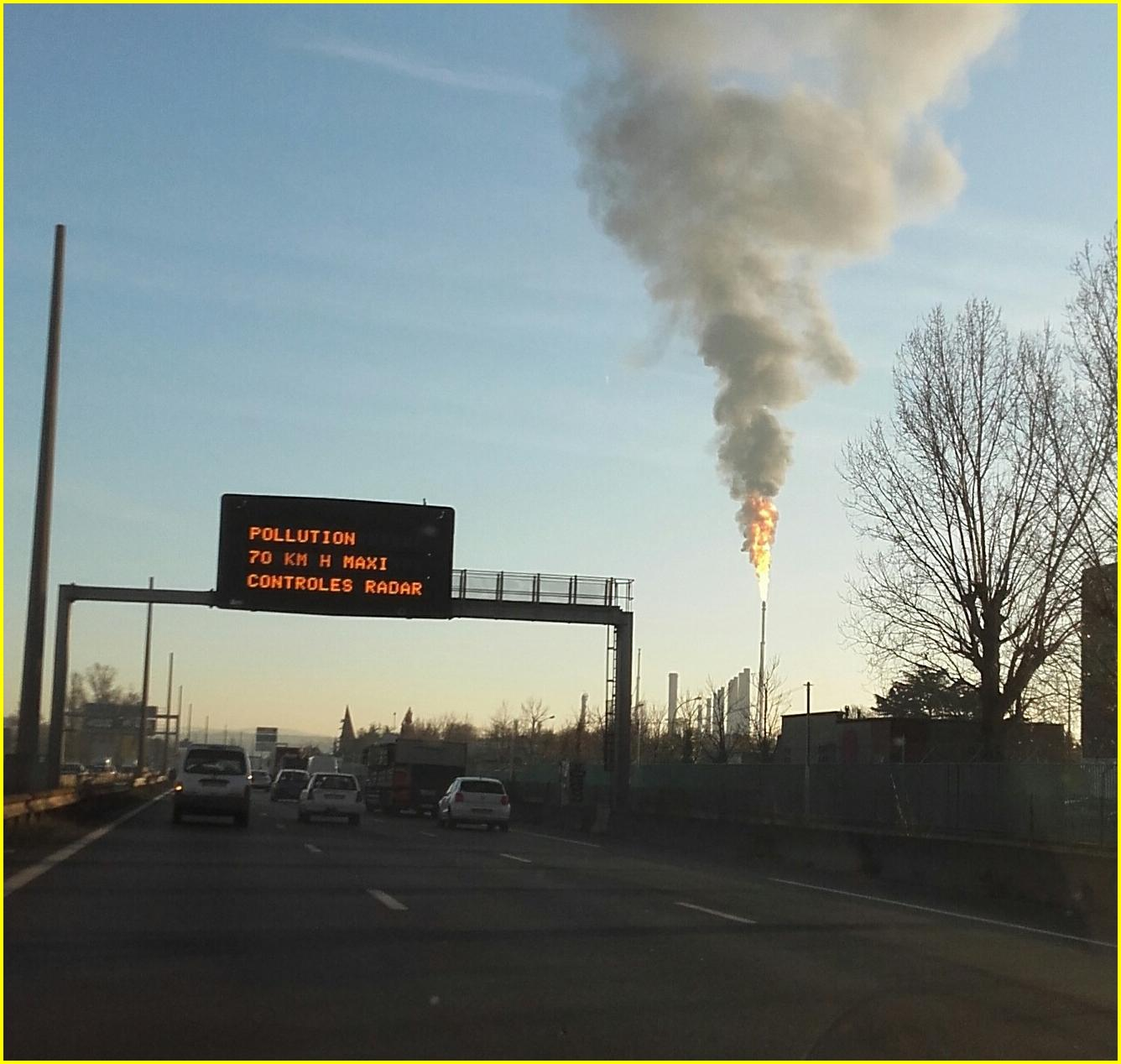 Pollution circulation